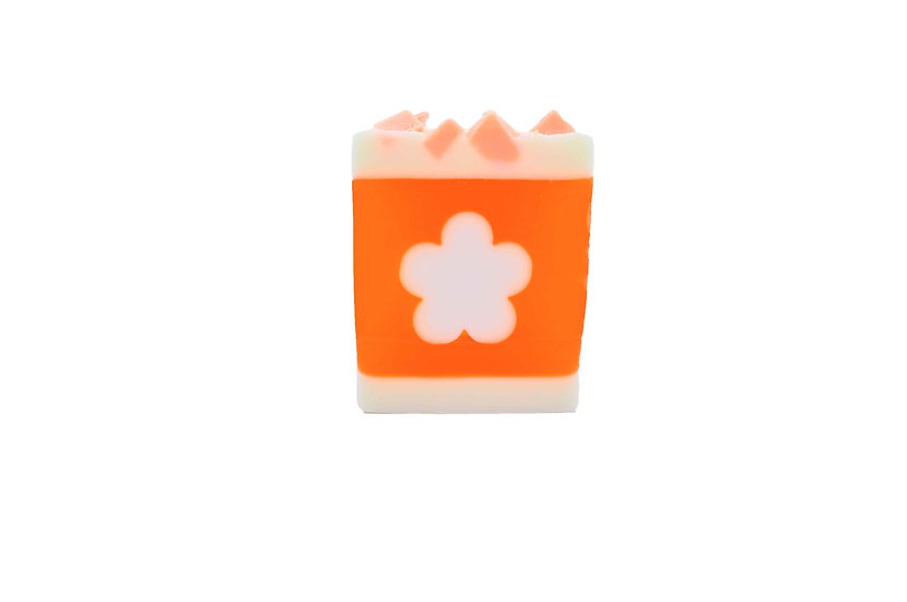 Daisy Rainbow Sweet Orange Soap