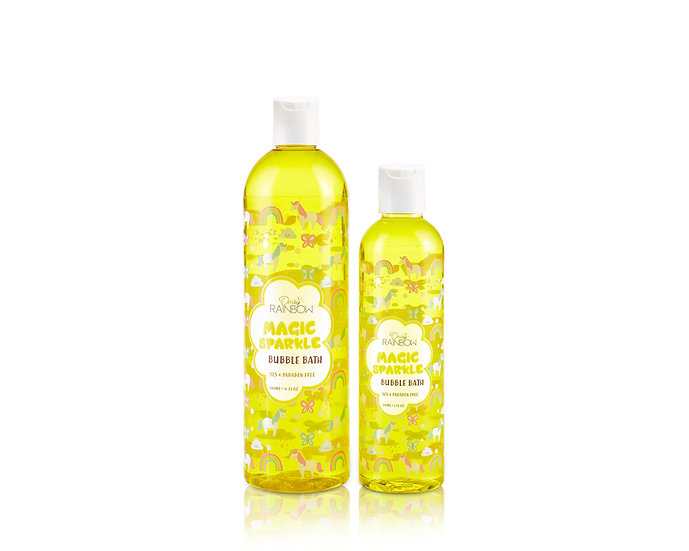 Daisy Rainbow Pineapple Sparkle Bubble Bath