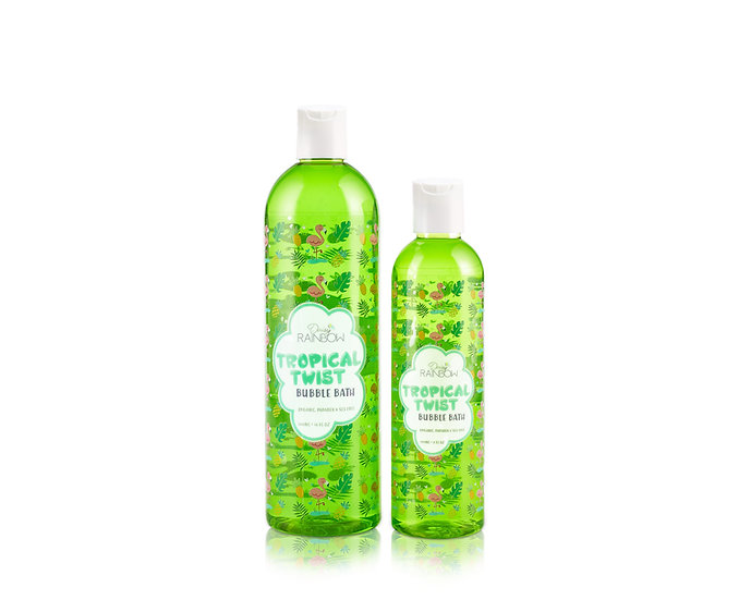 Daisy Rainbow Tropical Twist Bubble Bath
