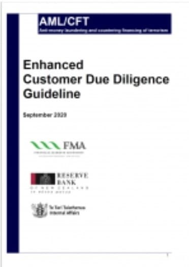 Enhanced Customer Due Diligence Guideline (2020)