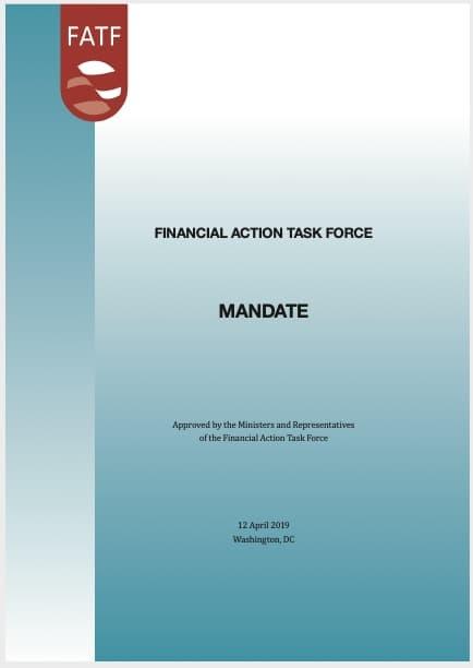 FATF Mandate (2019)