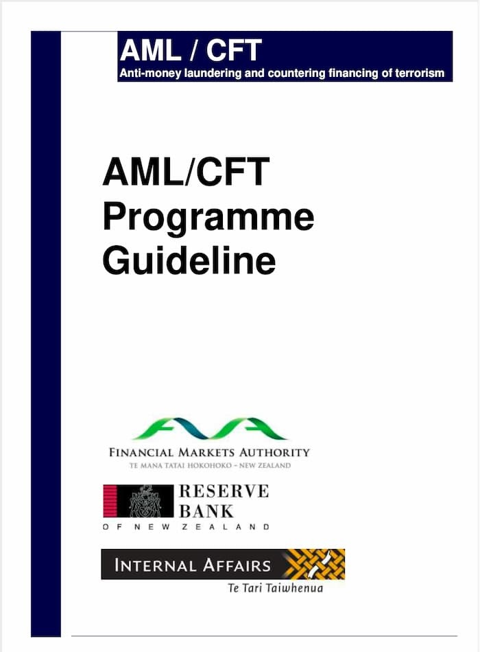 AML/CFT Programme Guidelines