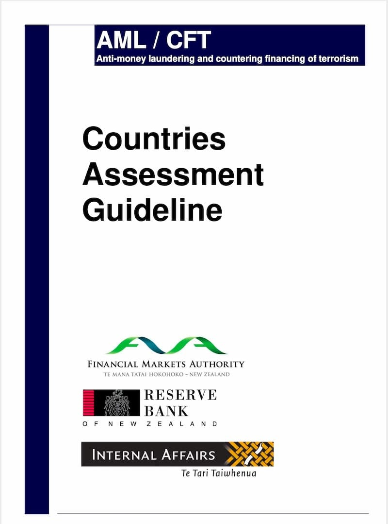 Countries Assessment Guideline