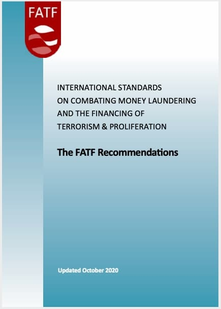 FATF Recommendations 2012 (Updated 2020)