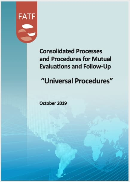 FATF Universal Procedures of Mutual Evaluations and Follow-Ups (2019)