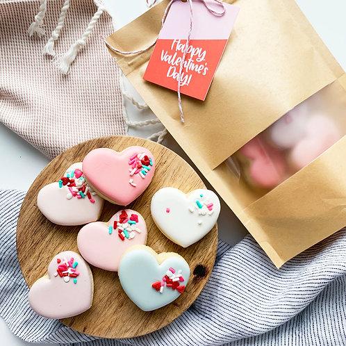 Basic Heart Dozen Gift Bag