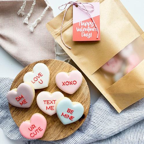 Sweet or Sassy Heart Dozen Gift Bag
