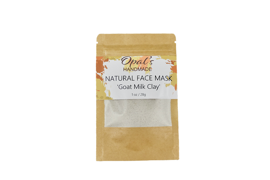 'Goat Milk Clay' Face Mask