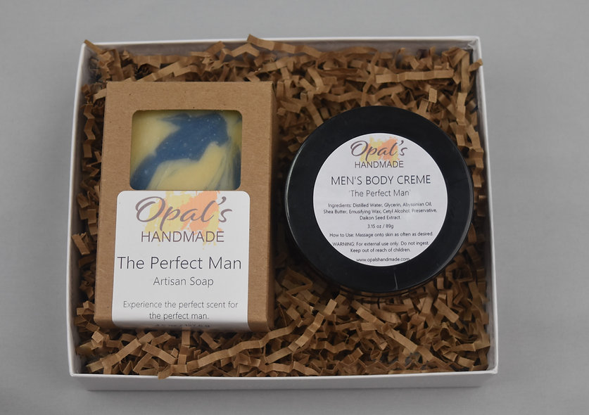 """The Perfect Man"" Male Gift Set"