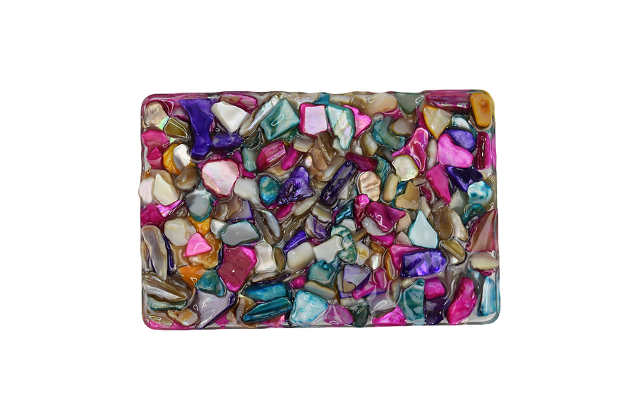 'Colorful Mosaic' Soap Tray