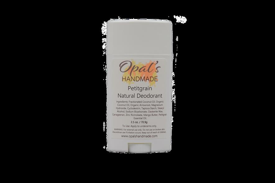 All Natural Aluminum Free Deodorant