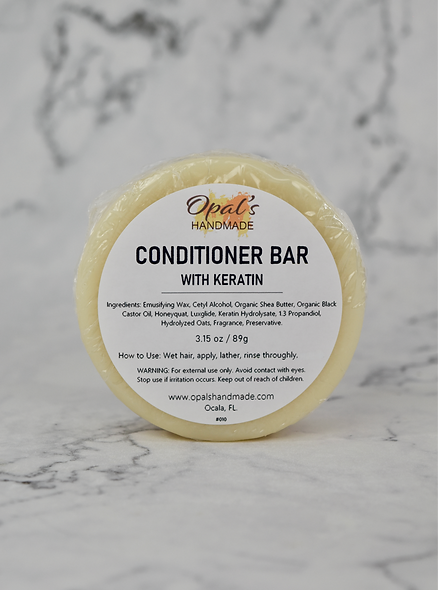 Conditioner Bar with Keratin