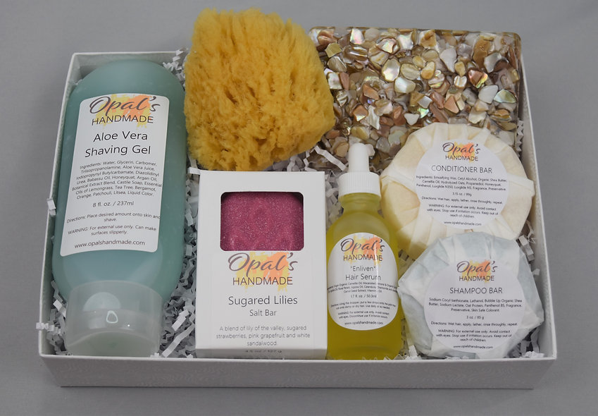 """Relax & Renew""  Woman's Gift Set"