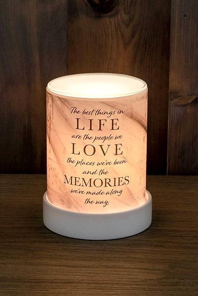 """Life, Love, Memories"" Wax Warmer"