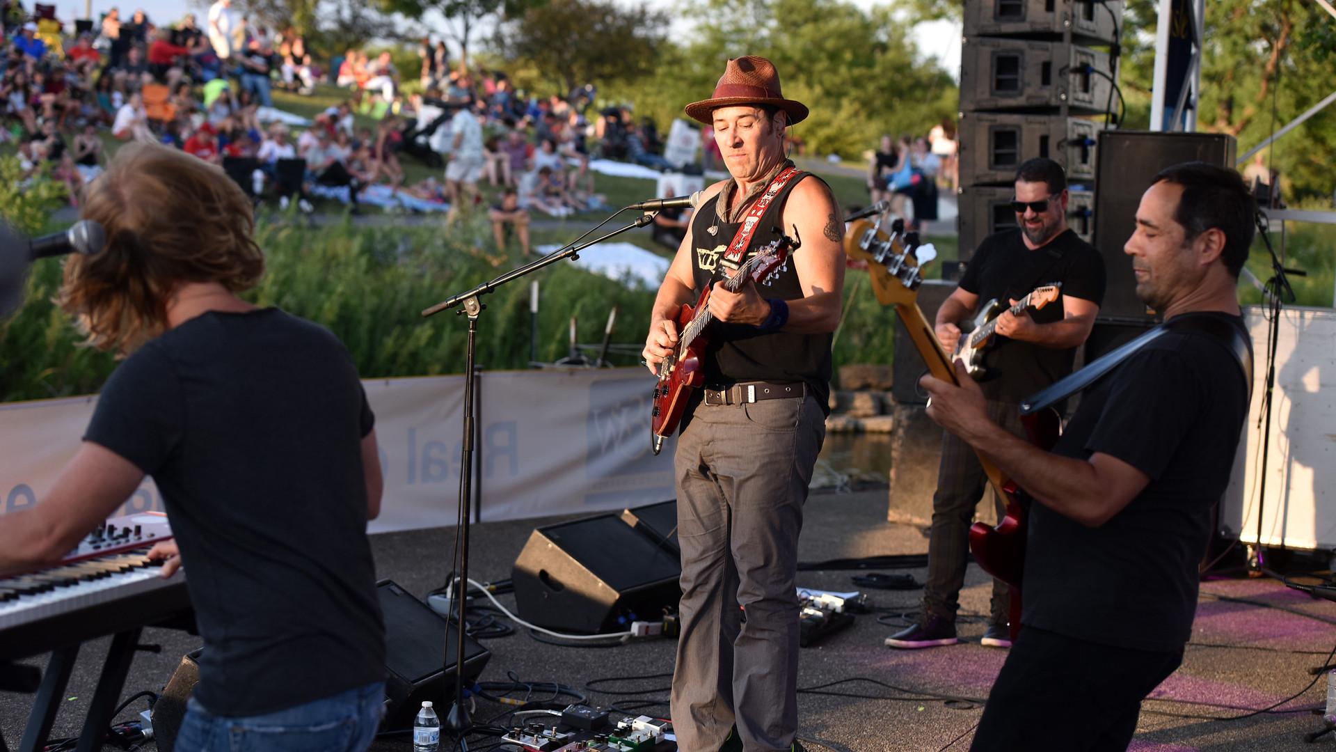 Rob Morrow Band-Lisle, Chicago