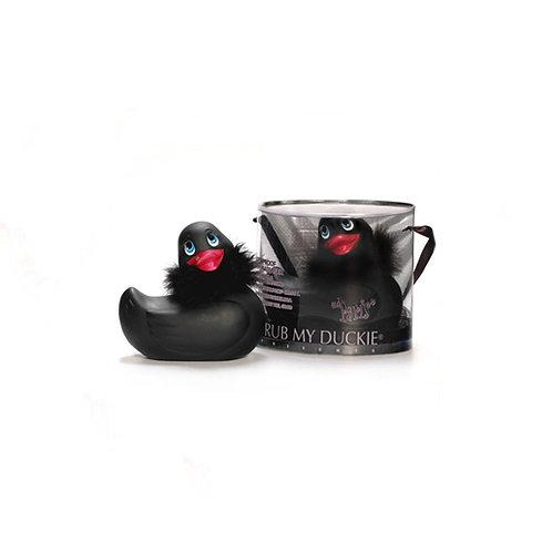 I Rub My Duckie Paris Mini Massager - Black