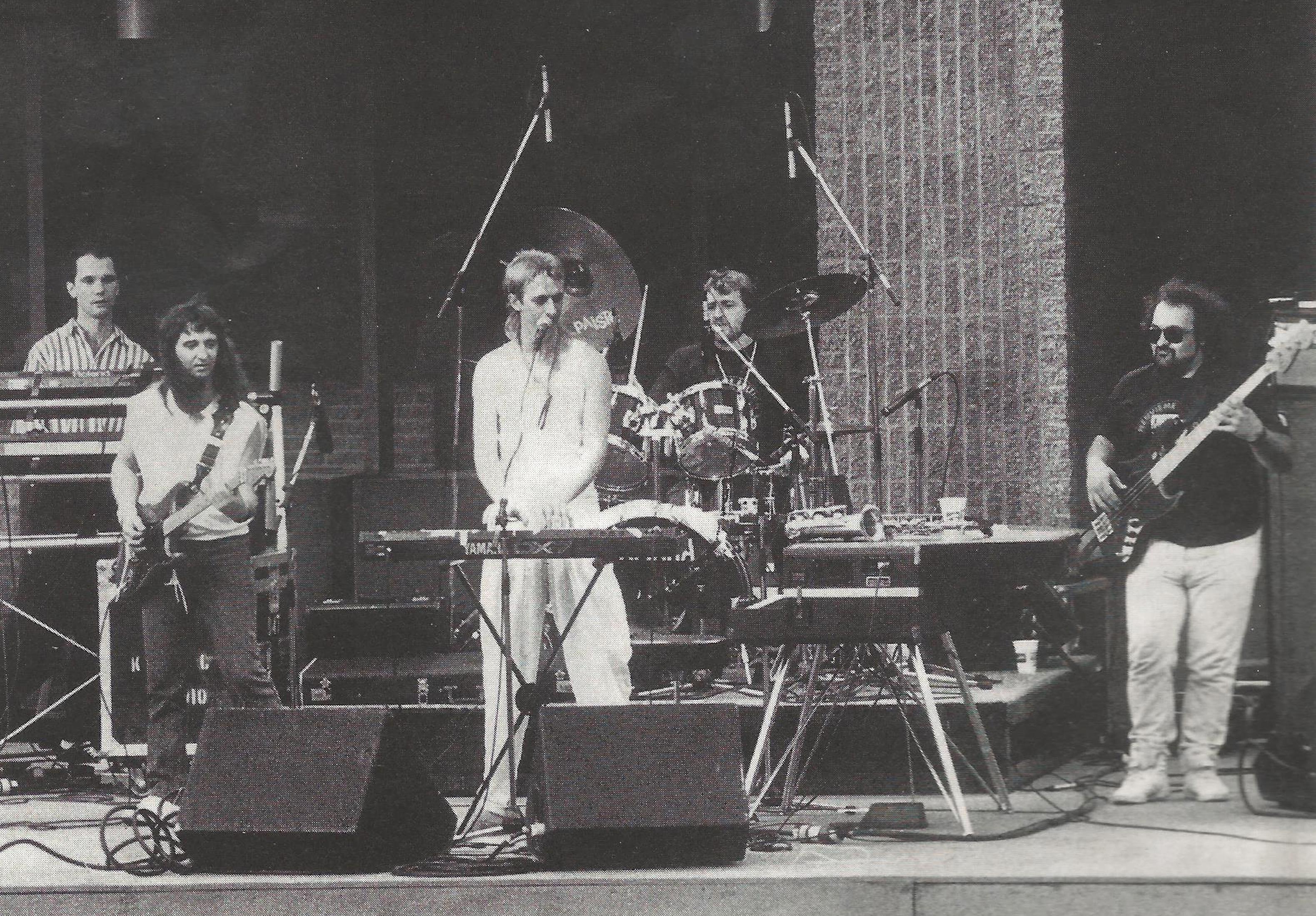 Avec Dan Bigras 1989