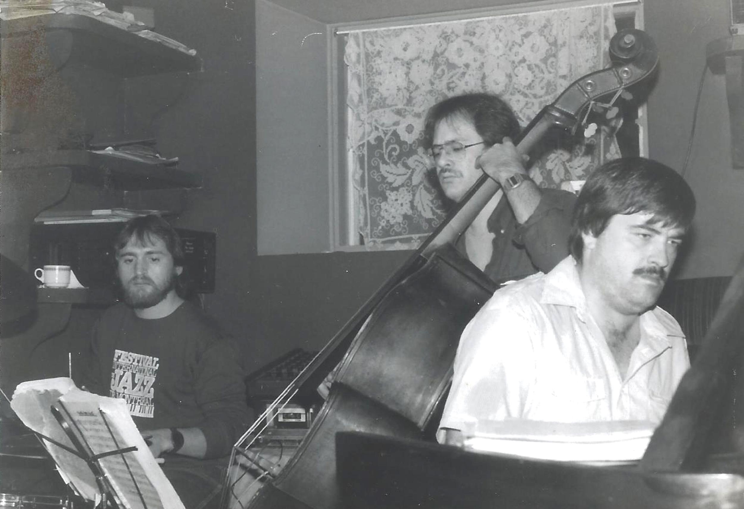 Jean-Louis Locas et Robert Rail 1983