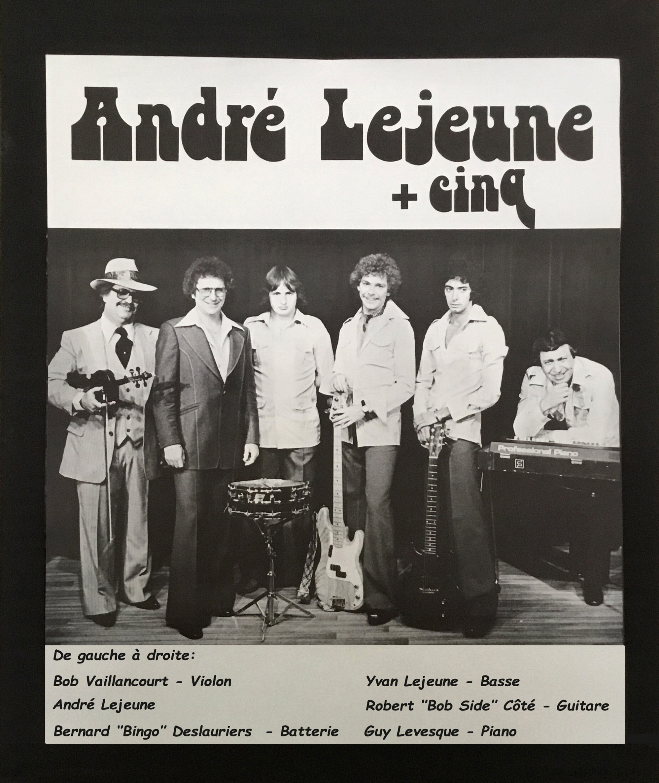 Poster André Lejeune + Cinq-1978.
