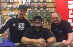 Avec Dennis Chambers et Dan Vézina 2017
