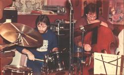 Avec Jean-Louis Locas 1983