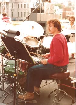 Avec Claude Gaudette 1980