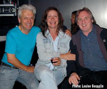 Avec Jean Millaire et Andrée Dupré