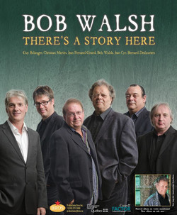 Poster Bob Walsh Blues Band 2012