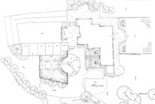 Garden plan - Large garden in The Cotswolds