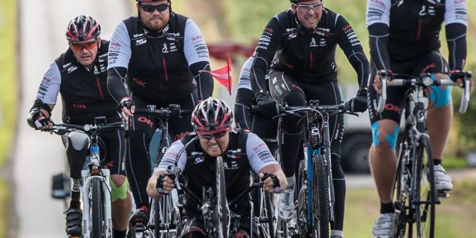 Træningslejr #2 på Kolding Sportel - Ride4Rehab