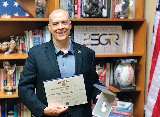Central Florida Developer Receives U.S. Secretary of Defense Medal