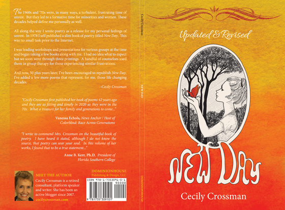 Cecily Crossman's New Day – A Collection of Poetry Written Some 50 Years Ago – Made No. 1 New Releas