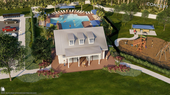 Dream Finders Homes' Holly Forest Amenity Center to Open Early Next Year at Silverleaf