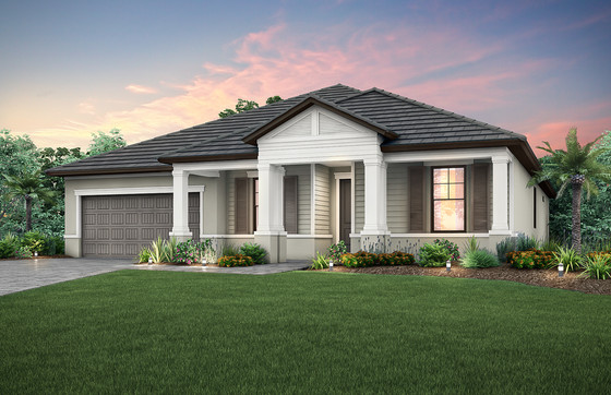 Pulte Homes has Two Models under Construction and Sales are Underway at Orange Blossom Ranchin Napl