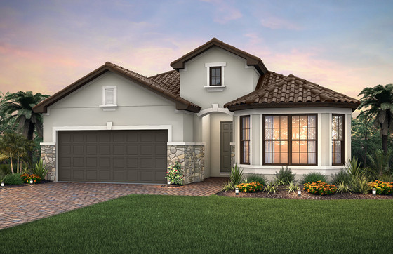 Pulte Homes has First Model  Under Construction in New Community Amaranda at Fiddler's Creek, Sa