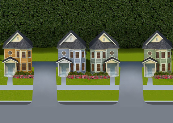 W. Bay Ave - Four New Custom Victorian Homes - Under Construction in Historic Downtown Longwood