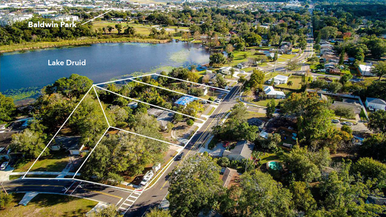 Lakefront Land Near Baldwin Park is Prime for a New Downtown Area Infill Project