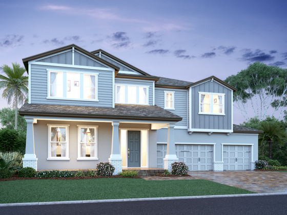 M/I Homes' New Lakefront Community Hull Island at Oakland Has Two Model Homes Underway, Opening