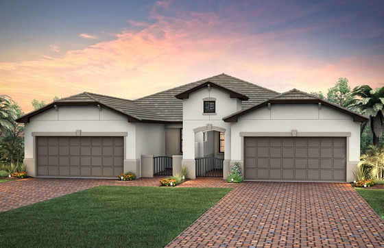 DiVosta Adds Another Villa Design to the New Home Selections at Winding Cypress in Naples