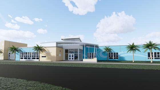 Construction Underway on Rhodes+Brito Designed Chisholm Elementary School in New Smyrna Beach