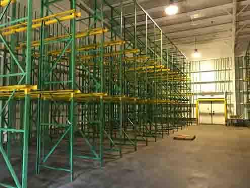 Tavares Cold Storage interior