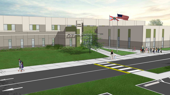OCPS Sees Rhodes+Brito Architects' Transformation, New Construction at Dover Shores Elementary Compl