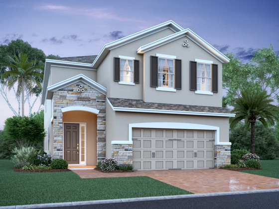 M/I Homes' Starts Pre Sales at Dean's Crossing at Little Econ in East Orlando, New Model Underway