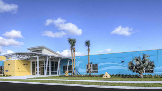 New Chisholm Elementary Opened this fall in New Smyrna's Historic Westside with 21st Century Learnin