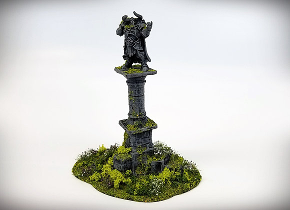 Ruined Column Pedestal