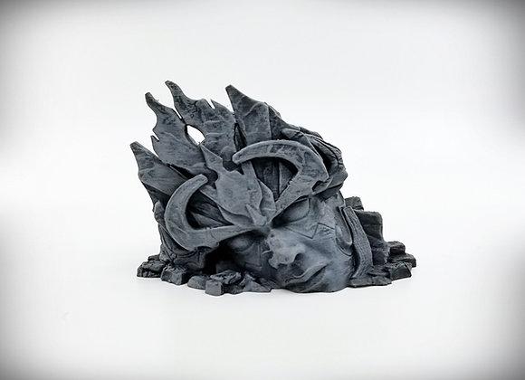 Ruined Statue Head