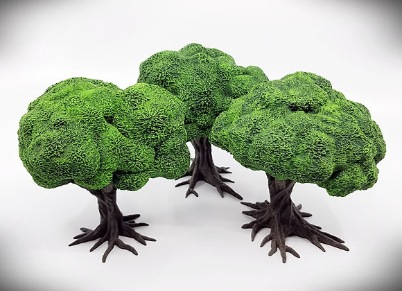 Playable Deciduous Trees (Set of 3)