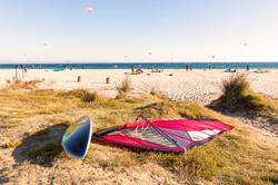 Windsurfing ion Tarifa