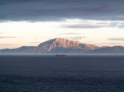 The straits of Gibraltar