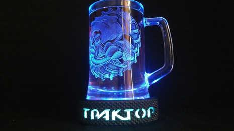 Шайба ТРАКТОР с подсветкой